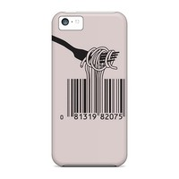 JIDTDFS Barcode Spagetthi - Hard Iphone 5c Case