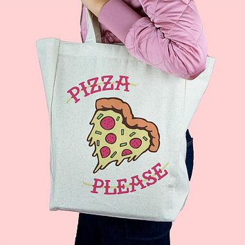Pizza Please Tote Bag