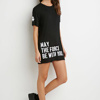 Force Be With You Longline Tee