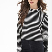 Ribbed Stripe Top