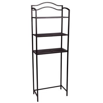Over-the-Toilet 3-Tier Storage Rack, Espresso