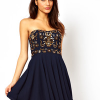 TFNC Prom Dress With Jewel Bustier