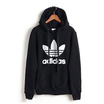 """Adidas"" men and women tide hooded sweatshirt jumper"