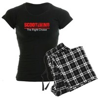 Scootering The Right Choice Women's Dark Pajamas> DoubleWhip Apparel