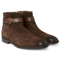 Jimmy ChooBryant Suede Chelsea Boots|MR PORTER