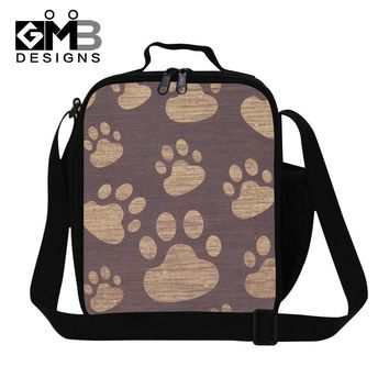 3D Cat Print Thermal Insulated Lunch Bag 22 Styles