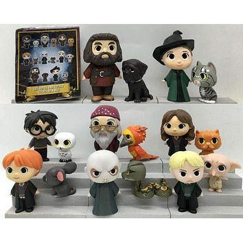Imperfect Original Funko Mystery Mini: Harry Potter - Dobby, Ron, Lord Voldemort,