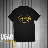A dreamer tshirt, dreamer shirt, urban t-shirt, idealist shirt, romantic shirt, swag tee, fashion clothing, 100% Cotton tshirt, Unisex shirt
