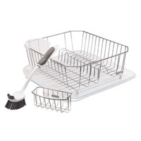 Rubbermaid Sinkware Dishwashing Set - Chrome (4 Pc)