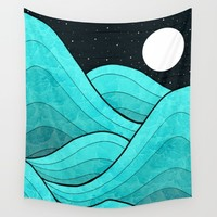 High Tide Wall Tapestry by Steve Wade ( Swade)