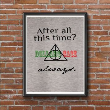 Harry Potter (always quote) Photo Poster