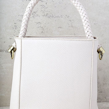 Bucket List Ivory Bag