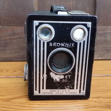 Vintage Black Kodak Box Camera Brownie Target Six Twenty