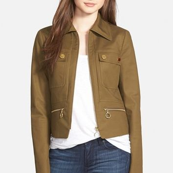 Women's MICHAEL Michael Kors Paneled Utility Jacket,