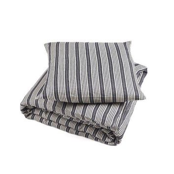 Tack Stripe Bed Linens by Libeco