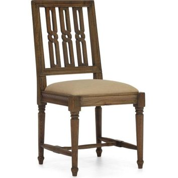 ZUO Modern Excelsior Chair Distressed Natural 98152 Dining Chair