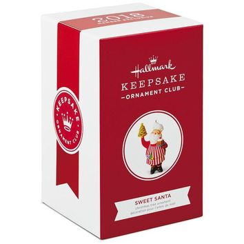 Hallmark Keepsake 2018 Sweet Santa Club-Exclusive Christmas Ornament New w Box
