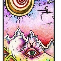 Fantasy Trippy Iphone 5 Hard Case Fits and Protect Iphone 5 Caseiphone 5-055
