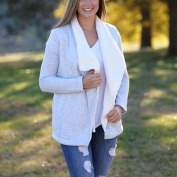 Z Supply: The Sherpa Sweater Cardigan