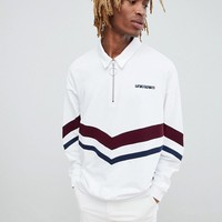 ASOS x Unknown London Rugby Sweatshirt at asos.com