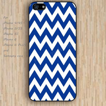 iPhone 6 case dream lighting blue chevron iphone case,ipod case,samsung galaxy case available plastic rubber case waterproof B191