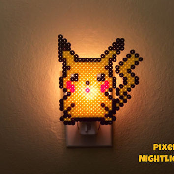 Pikachu | Style II | Pokemon Inspired | Nightlight | Wall Decoration | Size Medium