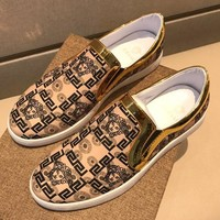 Boys & Men Versace Fashion Casual Sneakers Sport Shoes