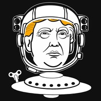 'U.S. Space Farce Wants You!' T-Shirt by Samuel Sheats