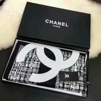 Perfect Chanel Women Fashion Winter Accessories Sunscreen Cape Scarves Scarf
