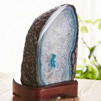 Agate Stone Table Lamp-