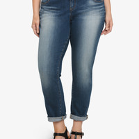 Torrid Boyfriend Jean - Medium Wash (Short)