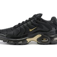 Nike Air Max Plus black gold 40-46
