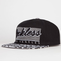 Young & Reckless Vintage Cheetah Mens Snapback Hat Black One Size For Men 22091110001