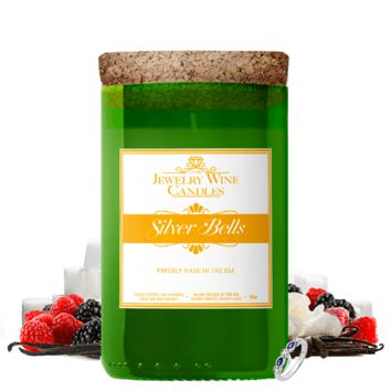 Silver Bells | Jewelry Wine Candle®
