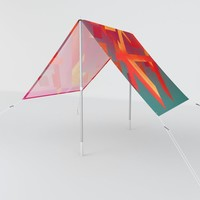 Fragmented Sun Shade by duckyb