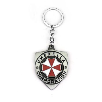 Hot Fashion Resident Evil Umbrella Keychain
