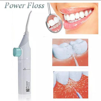 Compact Power Floss Whitening Flosser & Oral Irrigator Cuffer Oral rinse