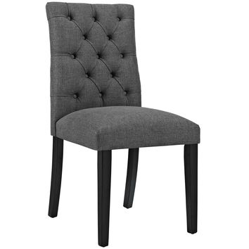 Duchess Fabric Dining Chair Gray EEI-2231-GRY