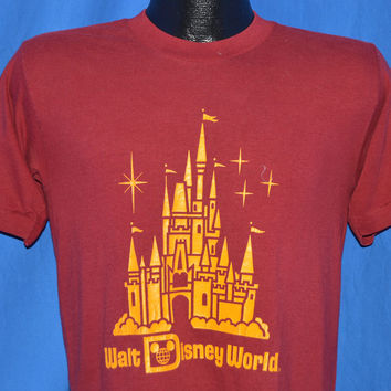 80s Walt Disney World Cinderella Castle t-shirt Small
