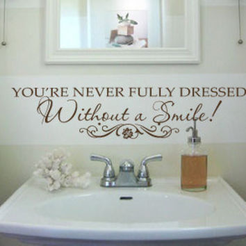 Wall Decals Without a Smile Inspirational Annie Small 011-30