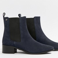Superdry Chelsea Boot with Mid Heel at asos.com