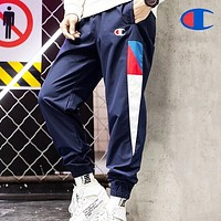 Champion Men Fashion Print Sport Pants Trousers Sweatpants