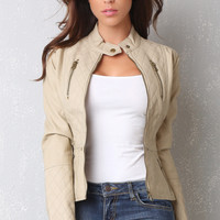 RESTOCK Fall Festival Taupe Jacket