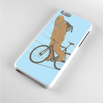 Chewbacca Biking Star Wars iPhone 5c Case