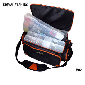 MultiPurpose Fishing Bags Outdoor Backpack Camping Hiking Fishing Trekking bag Reel Fishing Tackle Bag with organizador pesca