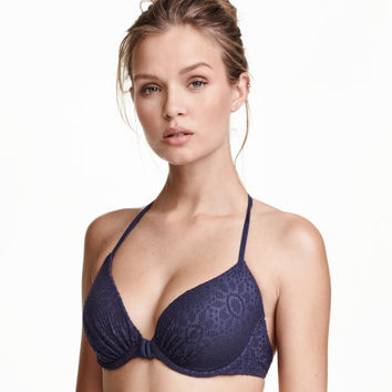 Padded Underwire Bikini Top - from H&M