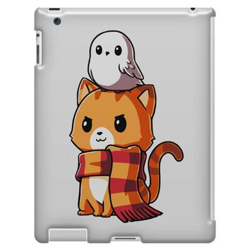 brave kitty iPad 3 and 4 Case