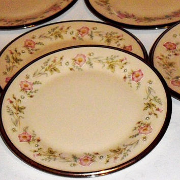 Lenox Flirtation Fine China, Bread Plates, set of 6