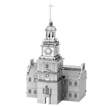 Metal Earth 3D Laser Cut Steel Model Kit - Independence Hall