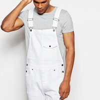 ASOS | ASOS Short Overalls In White at ASOS